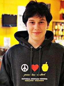 Peace Love Mustard Hoodie