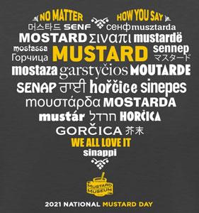 National Mustard Day 2021 T-Shirt