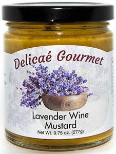 Delicae Gourmet Lavender Wine Mustard