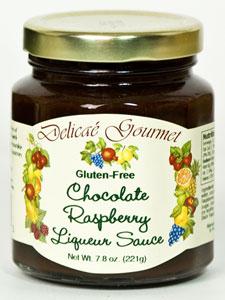 Delicae Chocolate Raspberry Liqueur Sauce