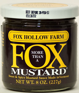 Fox Hollow Farm Sweet & Spicy Balsamic Garlic Mustard