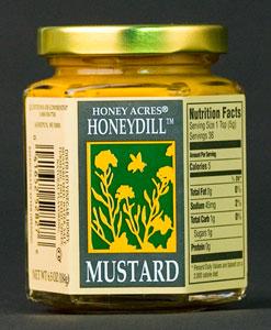 Honey Acres Honeydill Mustard (6.5 Oz)