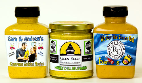 Custom Label Mustards - Case of 12 Jars