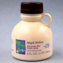 Maple Hollow Pure Maple Syrup 8 oz