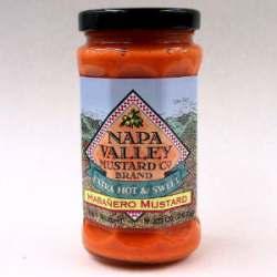 Napa Valley Extra Hot & Sweet Habanero Mustard (9.5 Oz)
