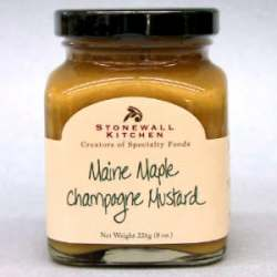 Stonewall Kitchen Maine Maple Champagne Mustard