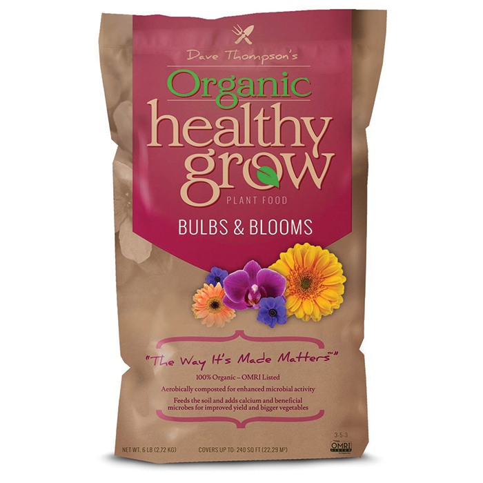 Healthy Grow Organic Bulb And Blooms