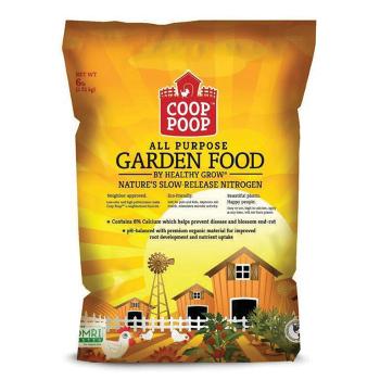 Coop Poop Garden Food