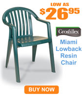 Miami Lowback Armchair