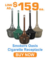 Smokers Oasis Cigarette Receptacle