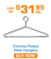 Chrome Plated Steel Hangers