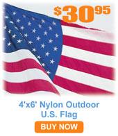 Outdoor U.S. Flags