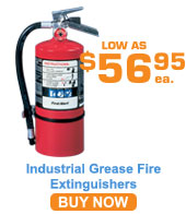 Grease Fire Extinguishers