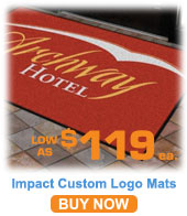 Impact Logo Mat