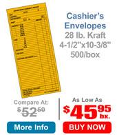 Cashier's Envelope 500/bx.