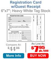 Registration Card w/Receipt 4