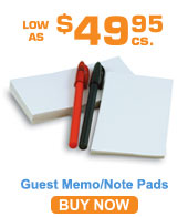 Paper Note Pads 2.75