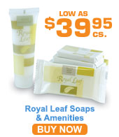 Royal Leaf Soaps & Amenities