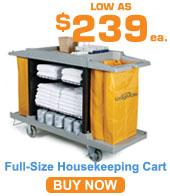 Full-Size Housekeeping Cart