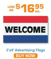3'x5' Advertising Flags