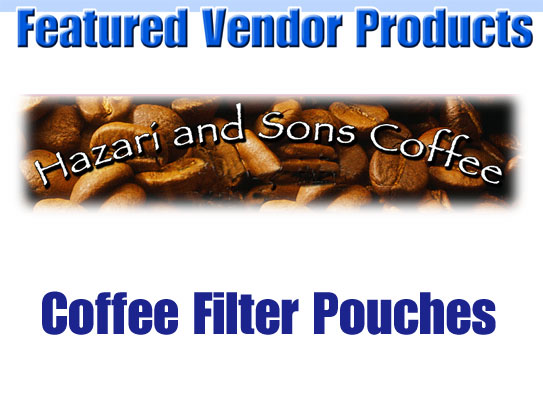 Coffee Products by Hazari and Sons Coffee