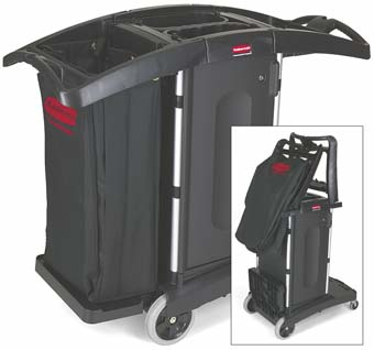 Compact Folding Cleaning Cart