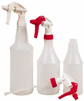Bottles & Sprayer Tops
