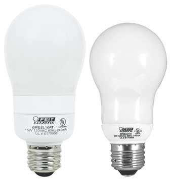 Compact Fluorescent Ecobulbs