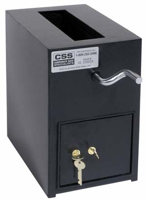 Safes Cash Deposit Rotary Hopper Safe