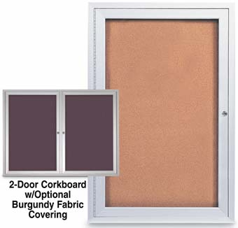 Enclosed Corkboards