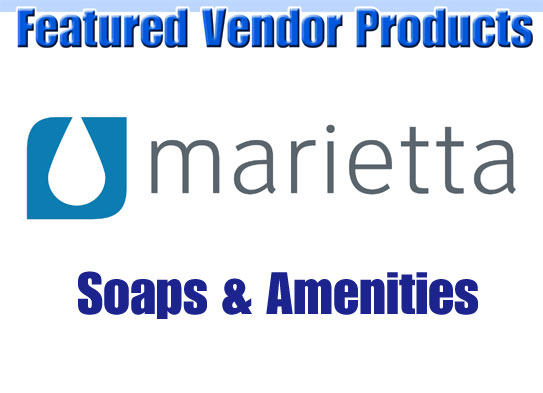 Hotel Bathroom Soaps and Amenities by Marietta