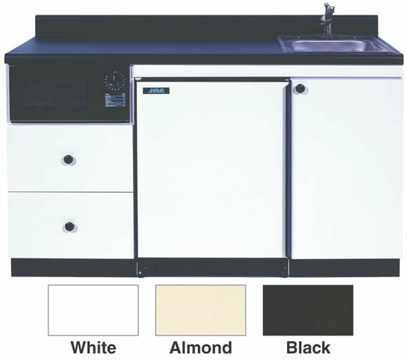 "60"" Compact Kitchen Unit w/Micro Combo"