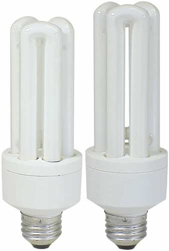 High Lumen 3-tube Fluorescent Ecobulbs