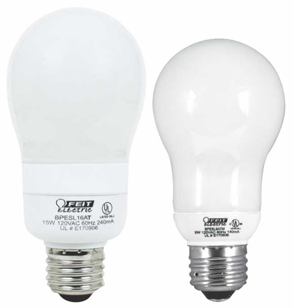 Compact Fluorescent Ecobulbs