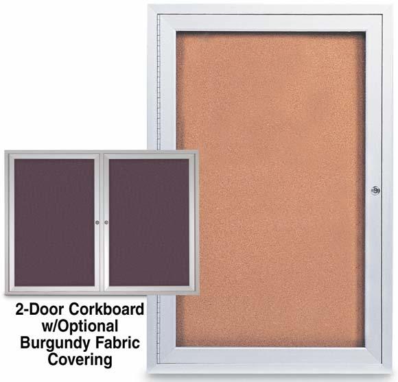 Enclosed Corkboards