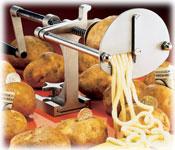 Spiral Fry Cutting Machine