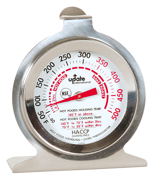 """Professional Oven Thermometer w/ 2"""" Dia. Dial Face"""