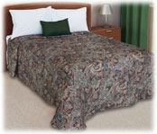 Trevira Quilted Polyester Bedspread Royalty