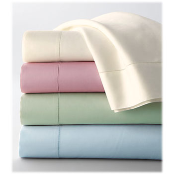 Thomaston Mills 180 Ct. Soft Pastel Colored Sheets