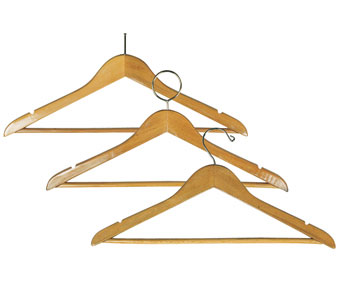 "17"" Wide Solid Hardwood Notched Hangers; 5/8"" Thick"