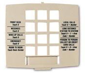 Generic Plastic Telephone Faceplates