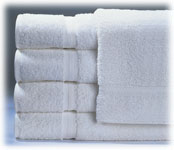 Royal Suite 100% Cotton Guestroom Towels; White