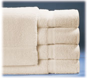 Royal Suite 100% Cotton Guest Room Towels; Beige