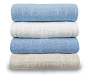 Savannah 100% Cotton Thermal Blankets
