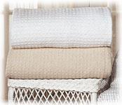 Santa Barbara 100% Cotton Thermal Blankets