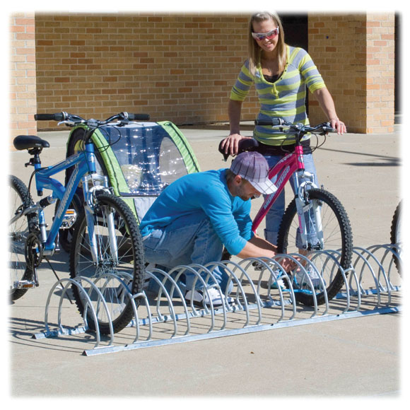 Safety Bicycle Rack
