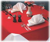 Embassy Spun Filament Polyester Tablecloths
