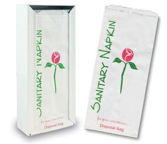 Sanitary Napkin Bags & Dispenser