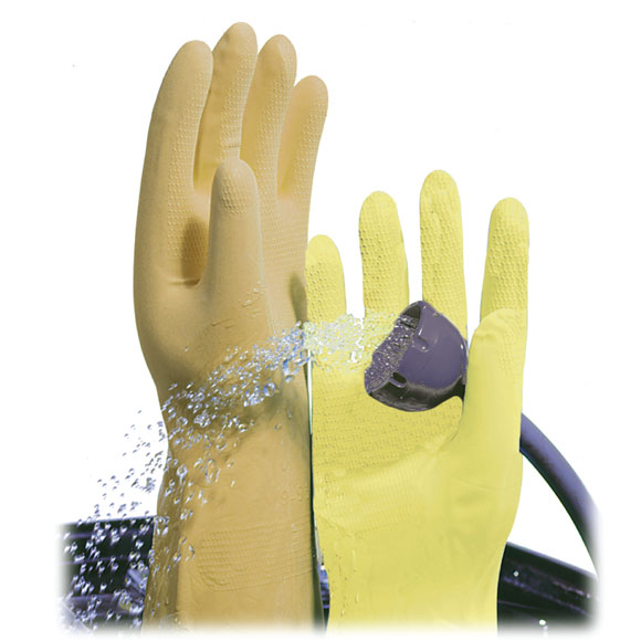 Lined Latex Gloves