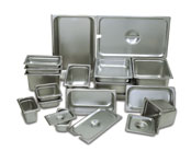 23 Ga. Stainless Steel Steamtable Pans